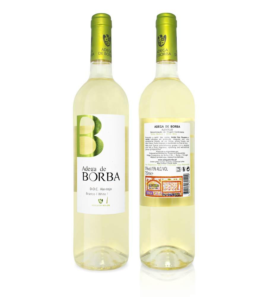 Vinho Branco Adega de Borba 75cl Alentejo DOC