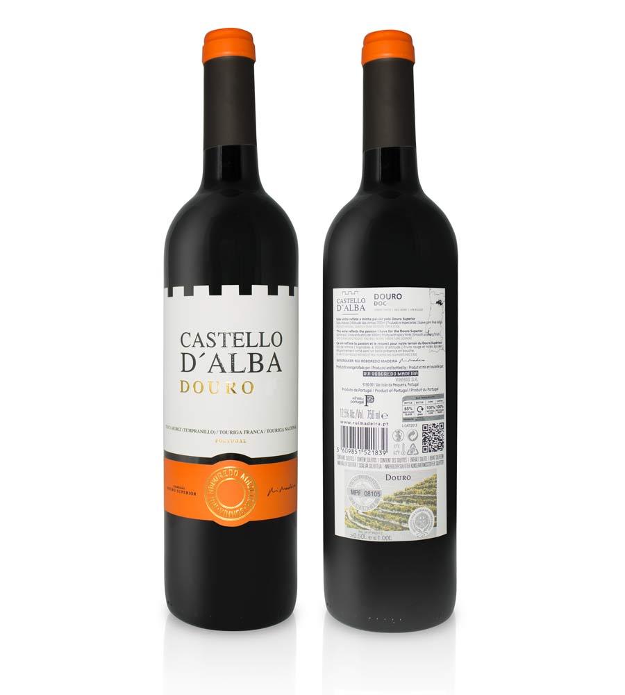 Vinho Tinto Castello D'Alba Colheita 2017, 75cl Douro DOC