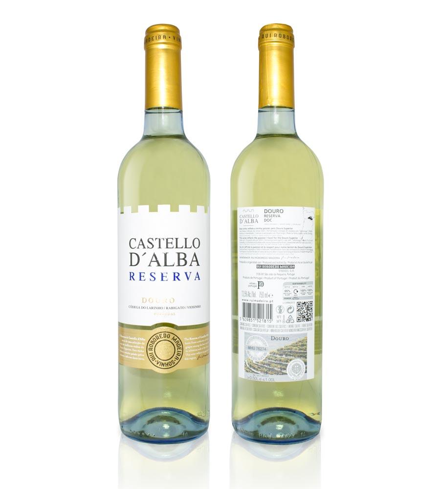 Vinho Branco Castello D'Alba Reserva 2017, 75cl Douro DOC