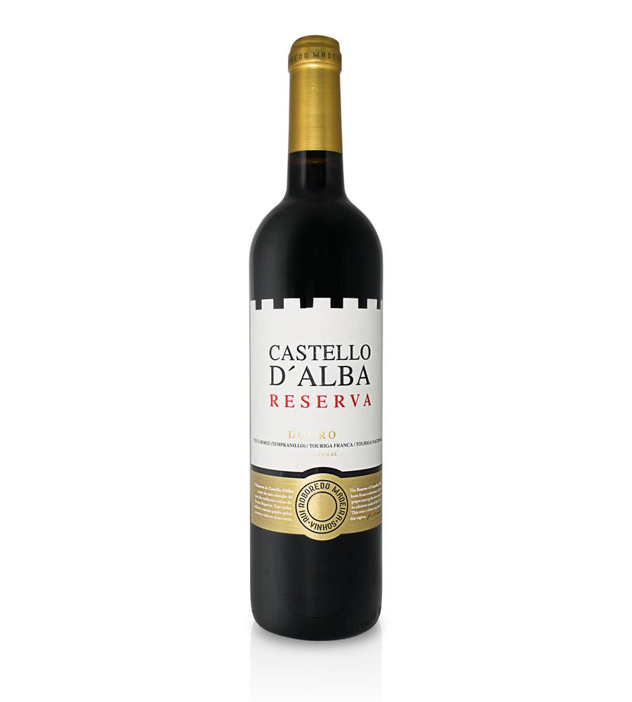 Vinho Tinto Castello D'Alba Reserva 2017, 75cl Douro DOC