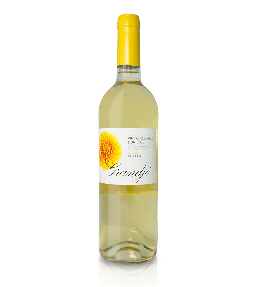 Vinho Branco Grandjó Meio Doce 2017, 75cl Douro
