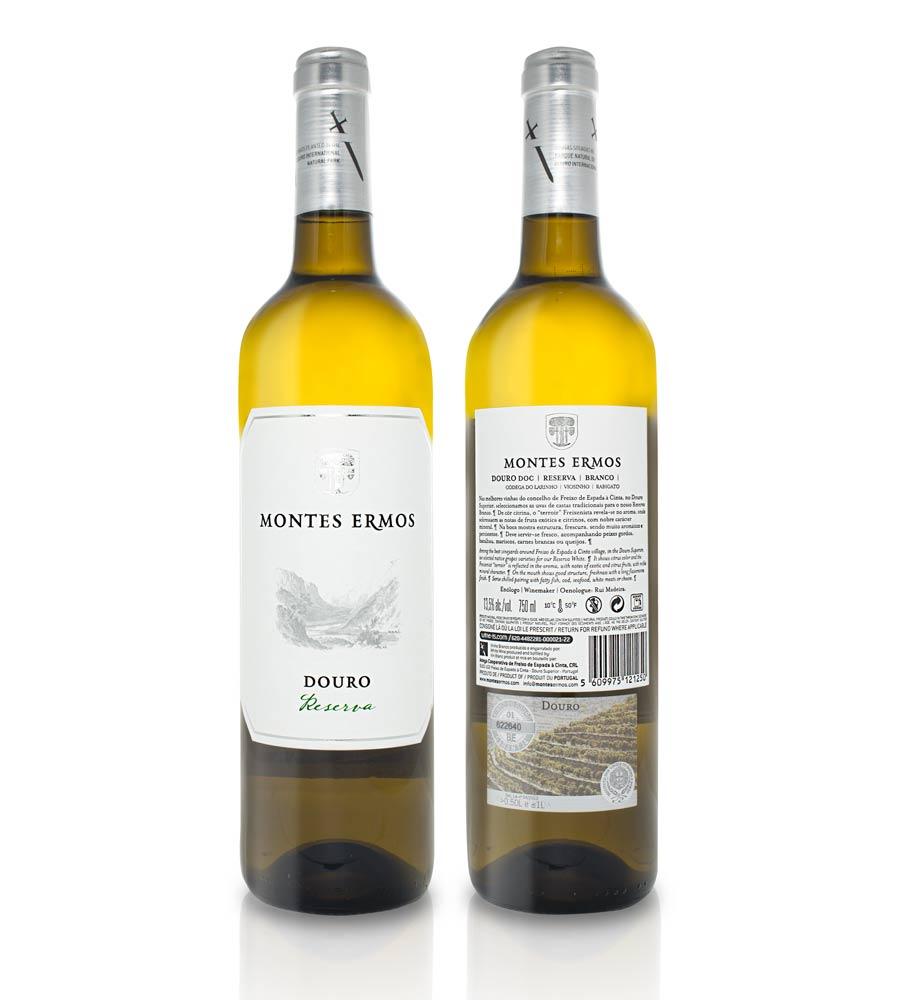 Vinho Branco Montes Ermos Reserva 2018, 75cl Douro DOC