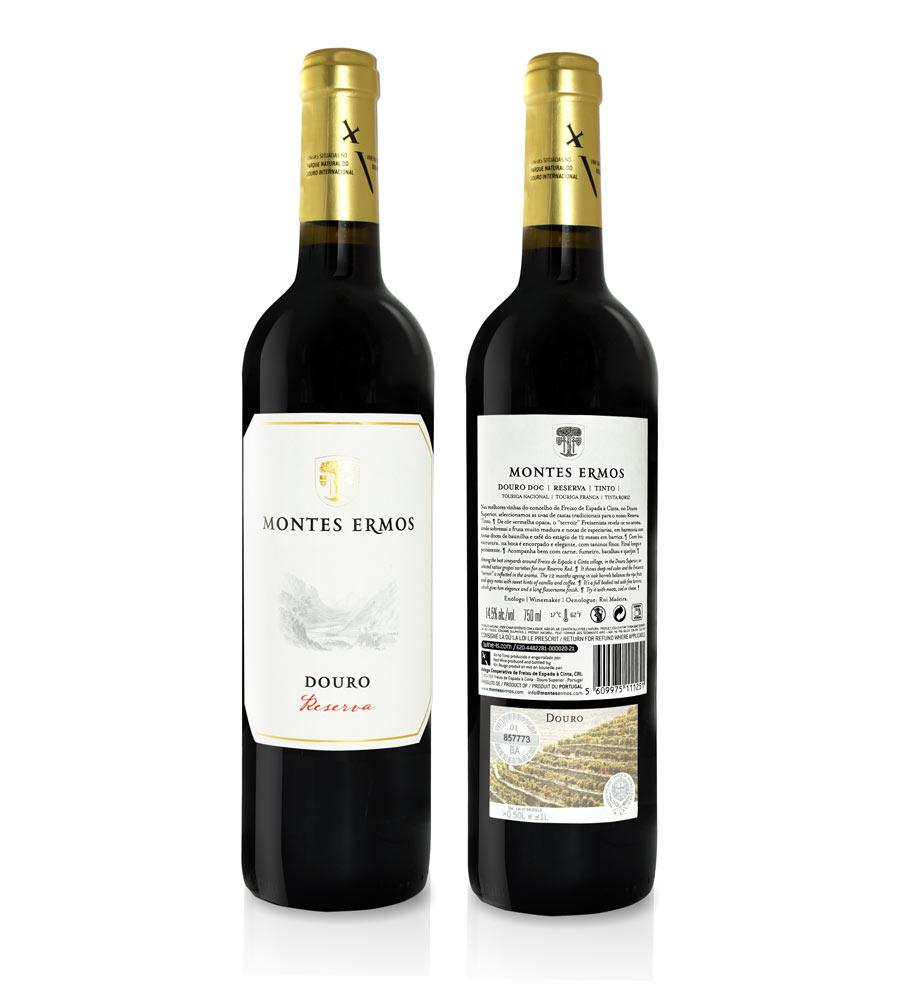 Vinho Tinto Montes Ermos Reserva 2019, 75cl Douro
