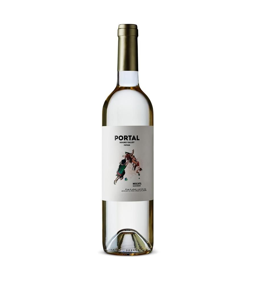 Vinho Branco Portal Moscatel Galego 2018, 75cl Douro