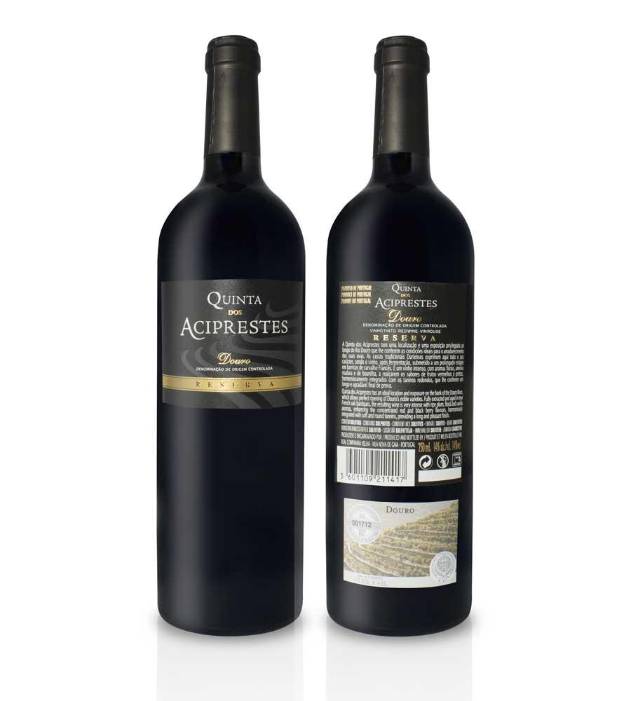 Vinho Tinto Quinta dos Aciprestes Reserva 2016, 75cl Douro DOC