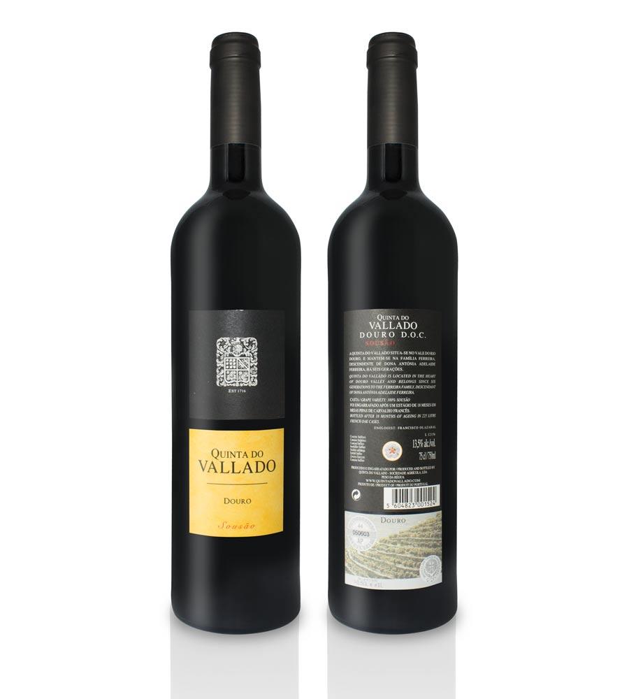 Vinho Tinto Quinta do Vallado Sousão 2015, 75cl Douro