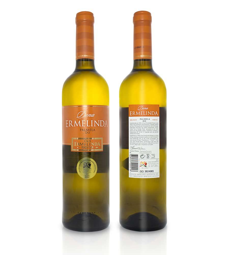 Vinho Branco Dona Ermelinda 2018, 75cl Península de Setúbal