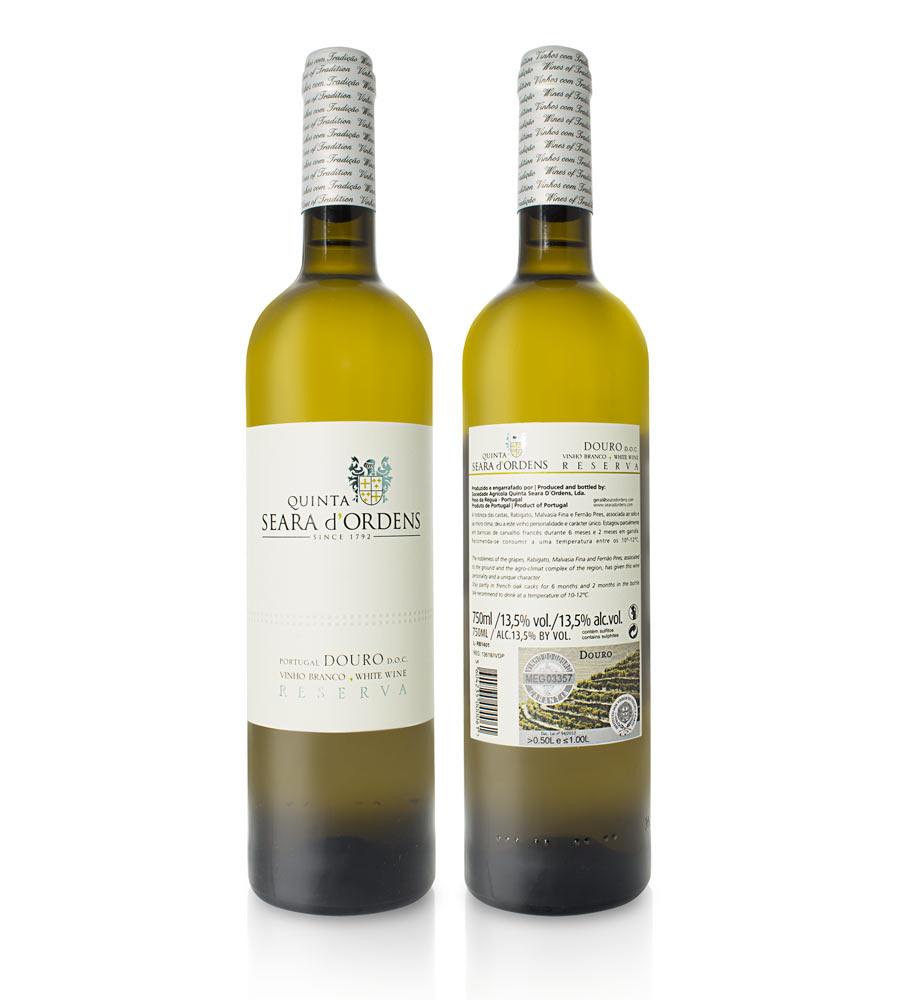 Vinho Branco Quinta Seara d'Ordens Reserva 2017, 75cl Douro