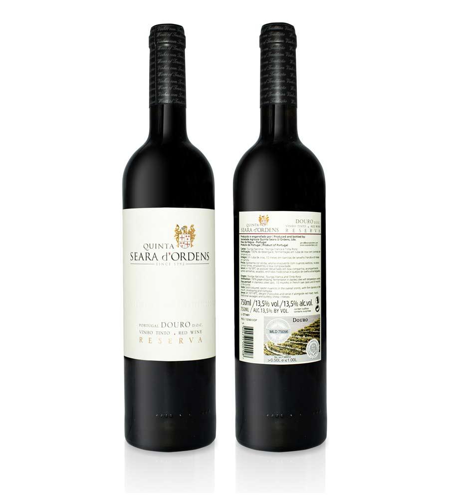 Vinho Tinto Quinta Seara d'Ordens Reserva 2017, 75cl Douro DOC
