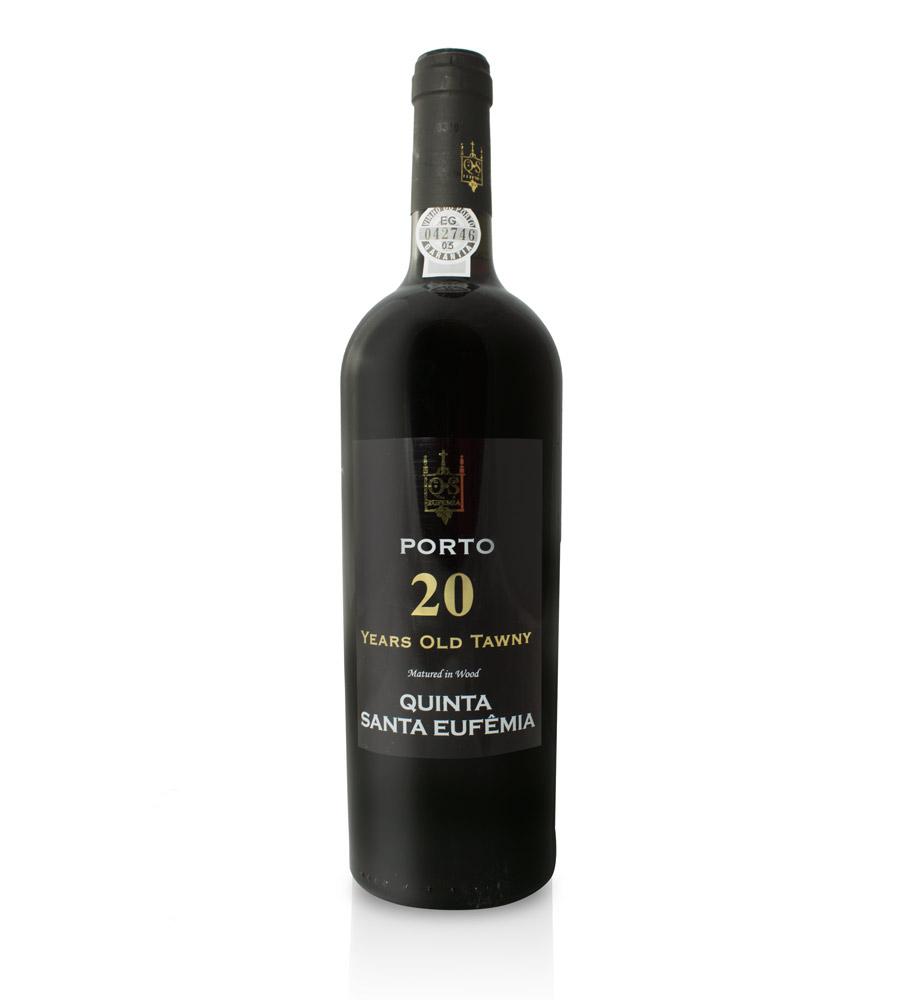 Vinho do Porto Qta. Santa Eufêmia Tawny 20 Anos, 75cl Porto