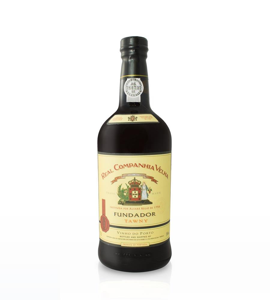 Vinho do Porto Real Companhia Velha Fundador, 75cl Porto