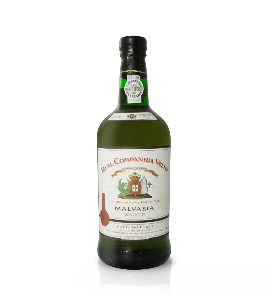 Vinho do Porto Malvasia Branco Real Companhia Velha, 75cl Porto