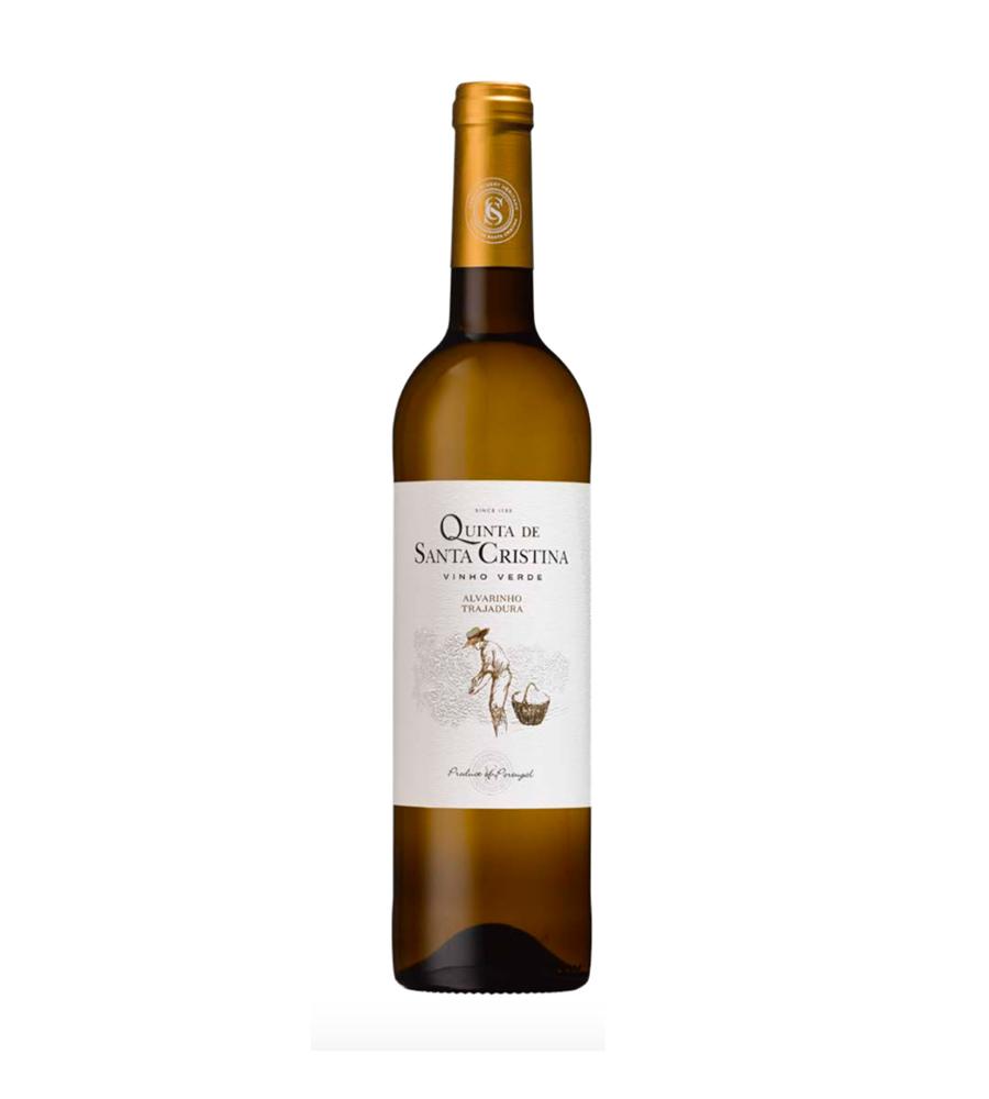 Vinho Branco Quinta de Santa Cristina Alvarinho Trajadura 2019, 75cl Vinhos Verdes