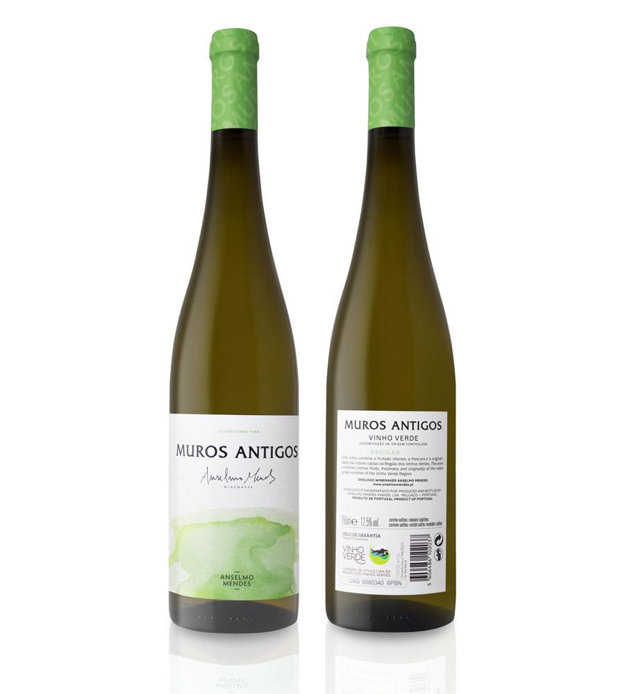 Vinho Verde Muros Antigos Escolha 2018, 75cl Vinho Verde DOC