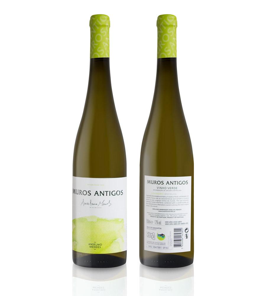 Vinho Branco Muros Antigos Escolha Loureiro 2019, 75cl Vinhos Verdes