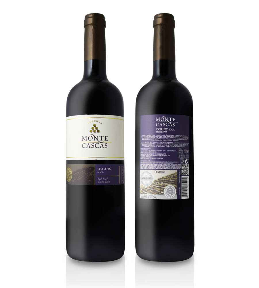 Vinho Tinto Monte Cascas Reserva 2014, 75cl Douro DOC