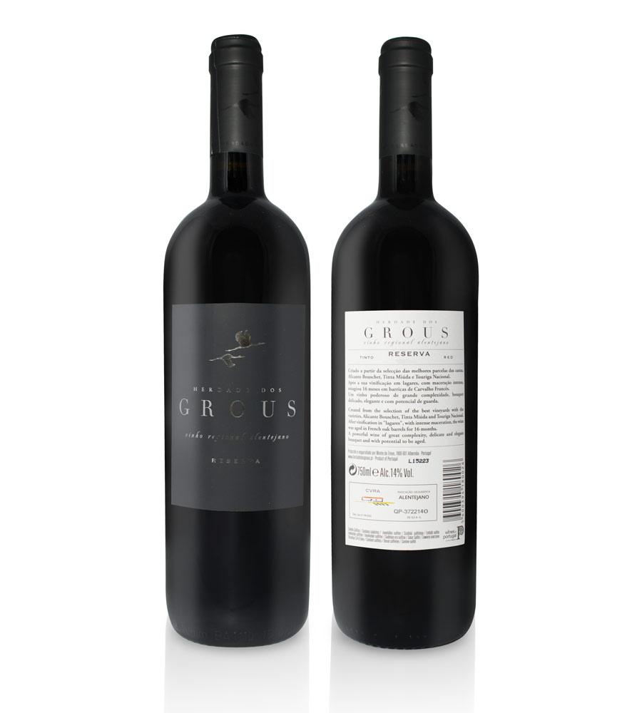 Vinho Tinto Herdade dos Grous Reserva 2016, 75cl Alentejo