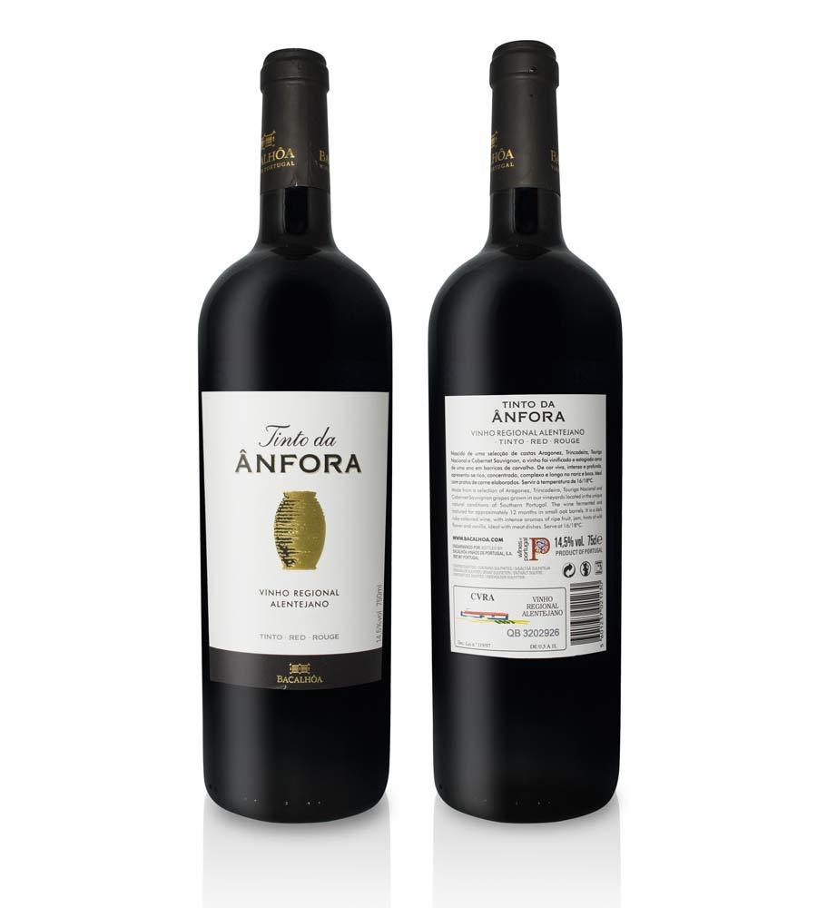 Vinho Tinto Tinto da Ânfora 2016, 75cl Alentejo