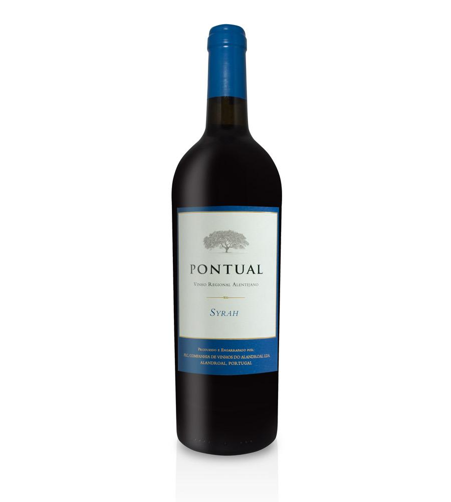 Vinho Tinto Pontual Syrah 2018, 75cl Alentejo