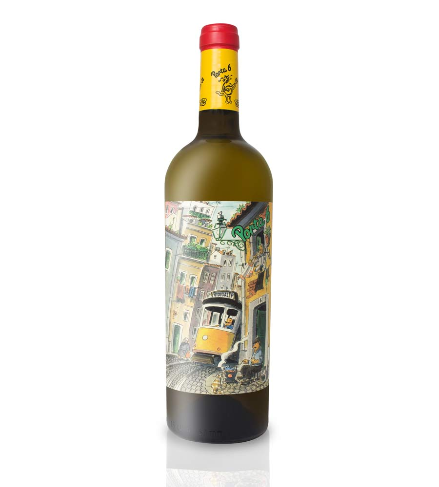 Vinho Branco Porta 6 2019, 75cl Regional Lisboa