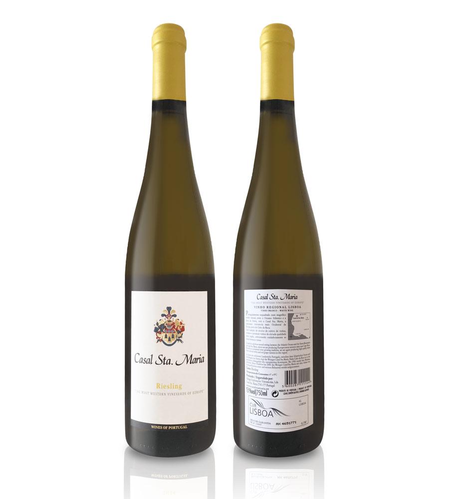 Vinho Branco Casal Santa Maria Riesling 2016, 75cl Lisboa