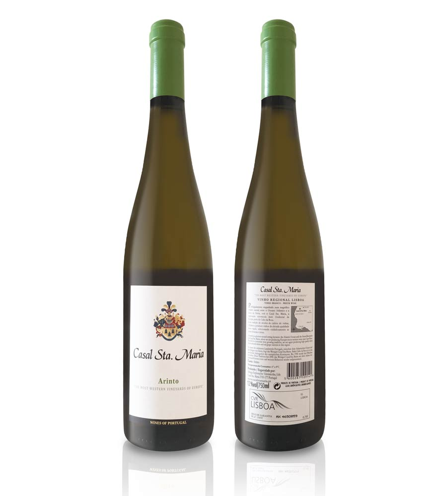 Vinho Branco Casal Sta. Maria Arinto 2016, 75cl Lisboa
