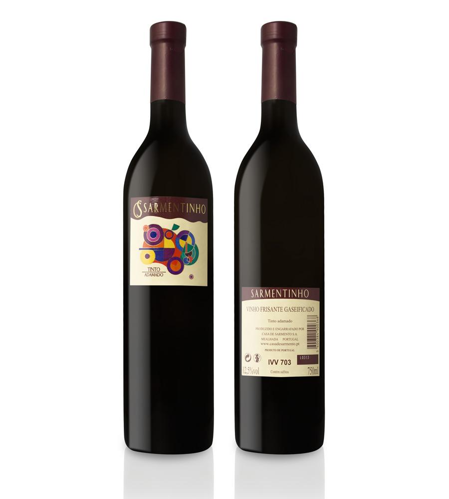 Vinho Tinto Sarmentinho 75cl Vinho de Mesa