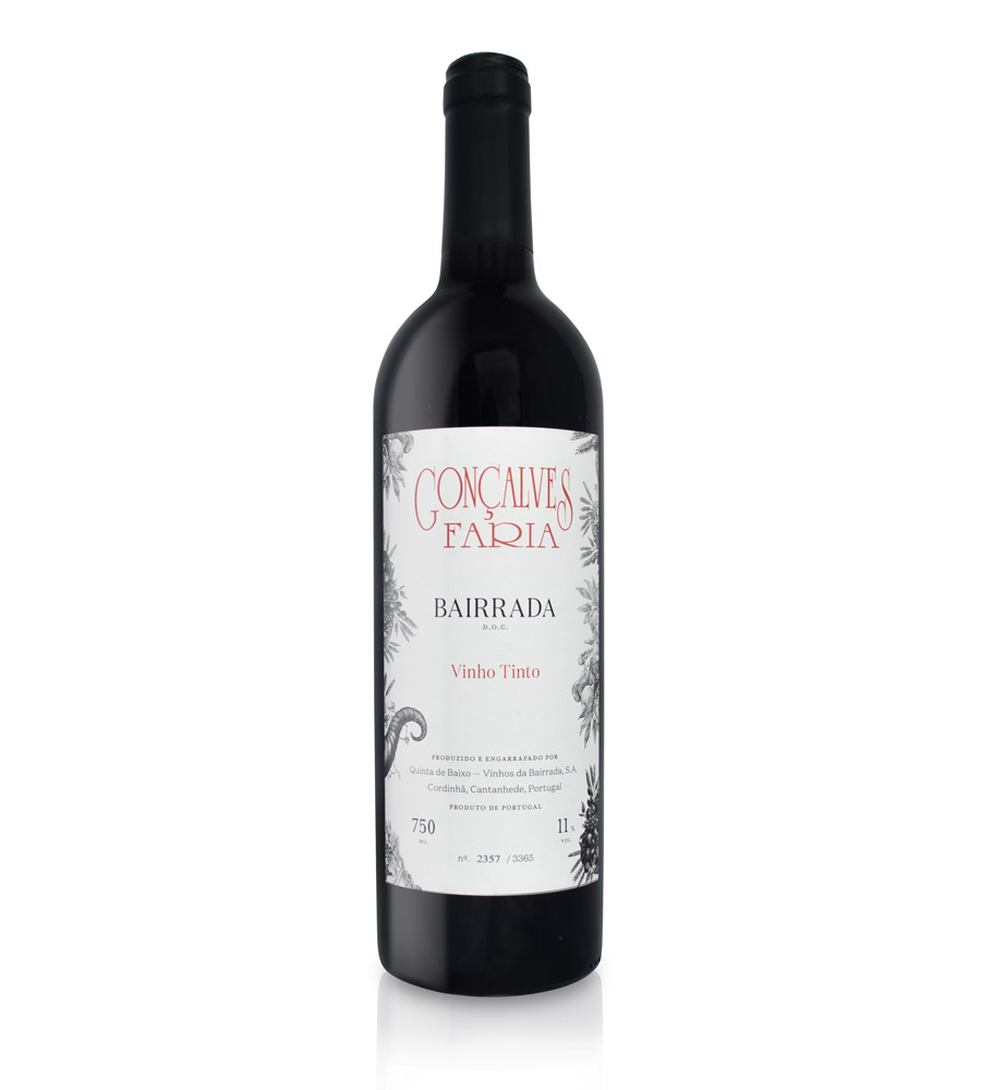 Vinho Tinto Gonçalves Faria 2013, 75cl Bairrada
