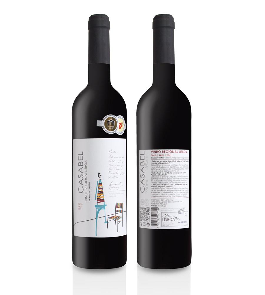 Vinho Tinto Casabel 2018, 75cl Regional Lisboa