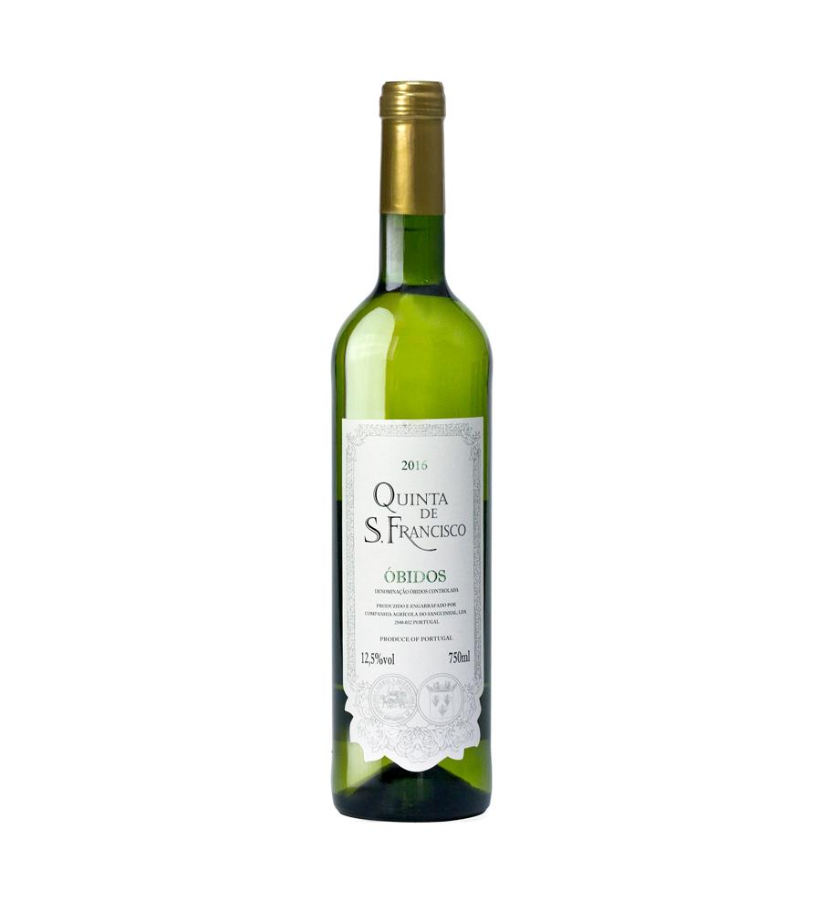 Vinho Branco Quinta de S. Francisco 2017, 75cl DOC Óbidos