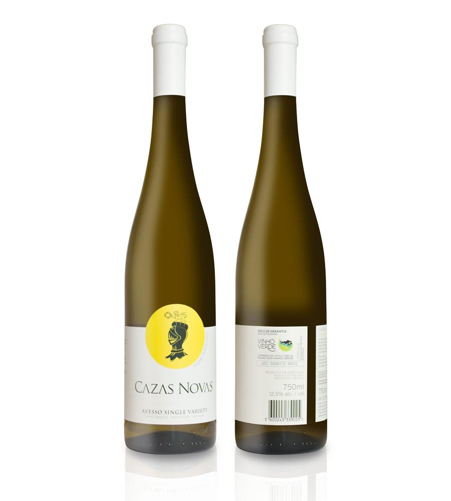 Vinho Verde Cazas Novas Escolha Avesso 2016, 75cl Vinho Verde DOC
