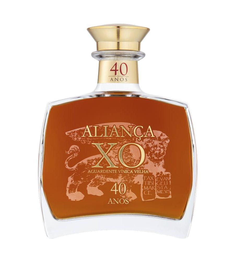 Aguardente Vínica Velha Aliança XO 40 Anos, 50cl