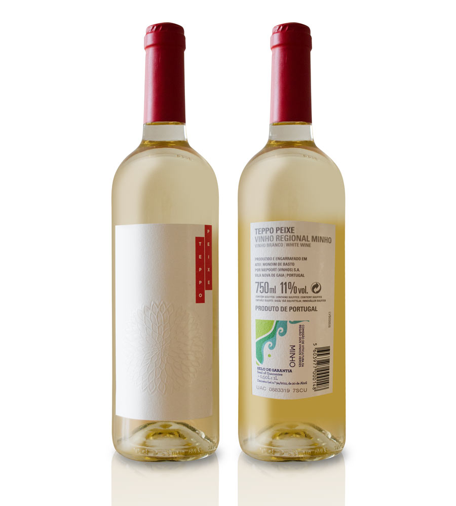 Vinho Branco Teppo Peixe Niepoort 2015, 75cl Minho