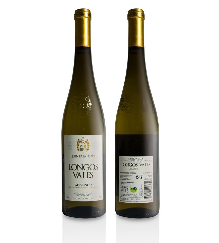 Vinho Verde Quinta da Pedra Longos Vales 2016, 75cl Vinho Verde