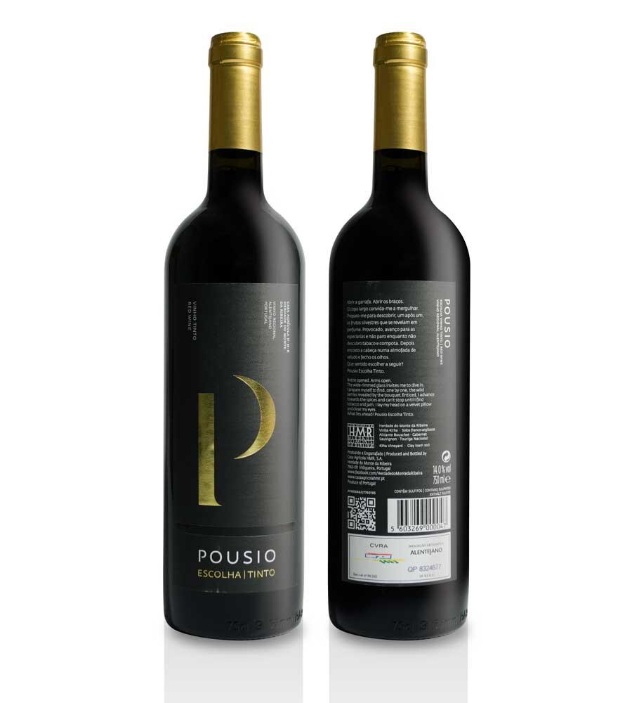 Vinho Tinto Pousio Escolha 2014, 75cl Alentejo