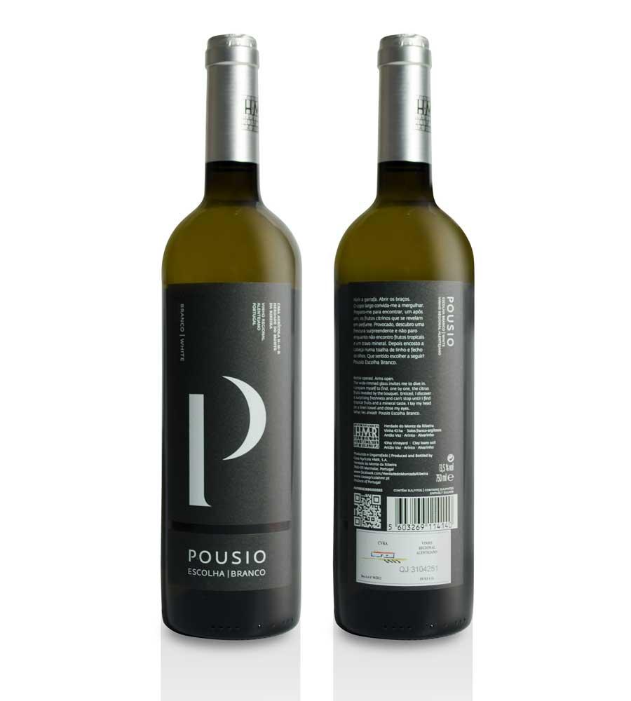 Vinho Branco Pousio Escolha 2015, 75cl Alentejo