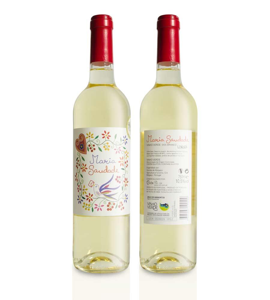 Vinho Branco Maria Saudade 75cl Vinhos Verdes