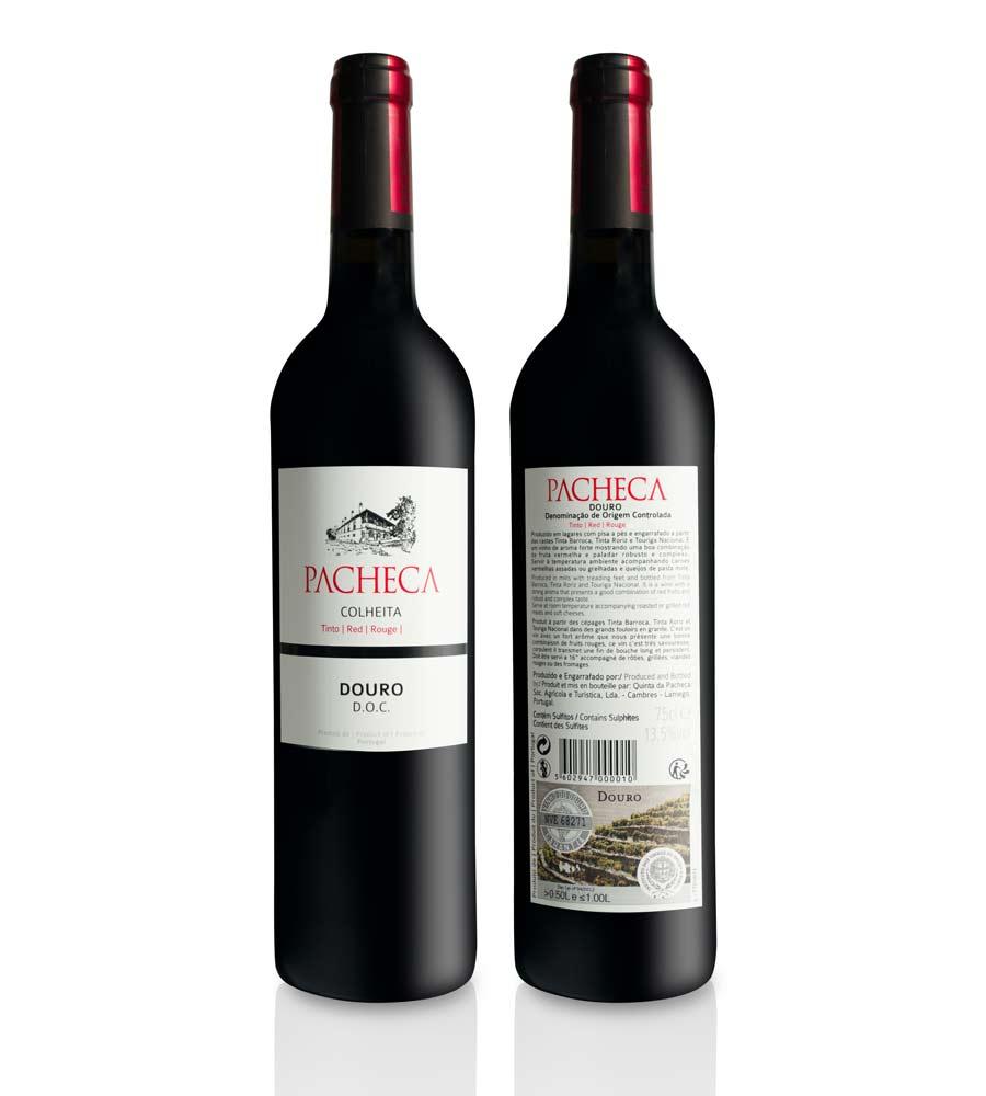 Vinho Tinto Pacheca Colheita 2016, 75cl Douro DOC
