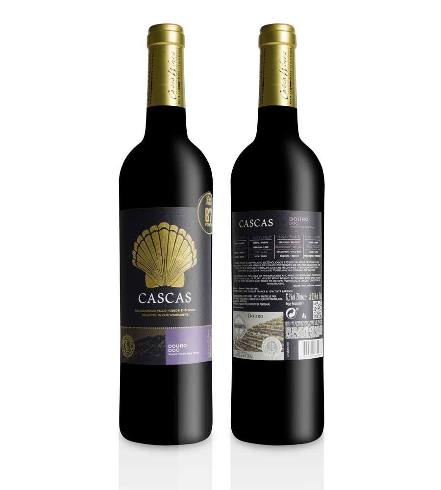Vinho Tinto Cascas Selecção Enólogo 2016, 75cl Douro Doc