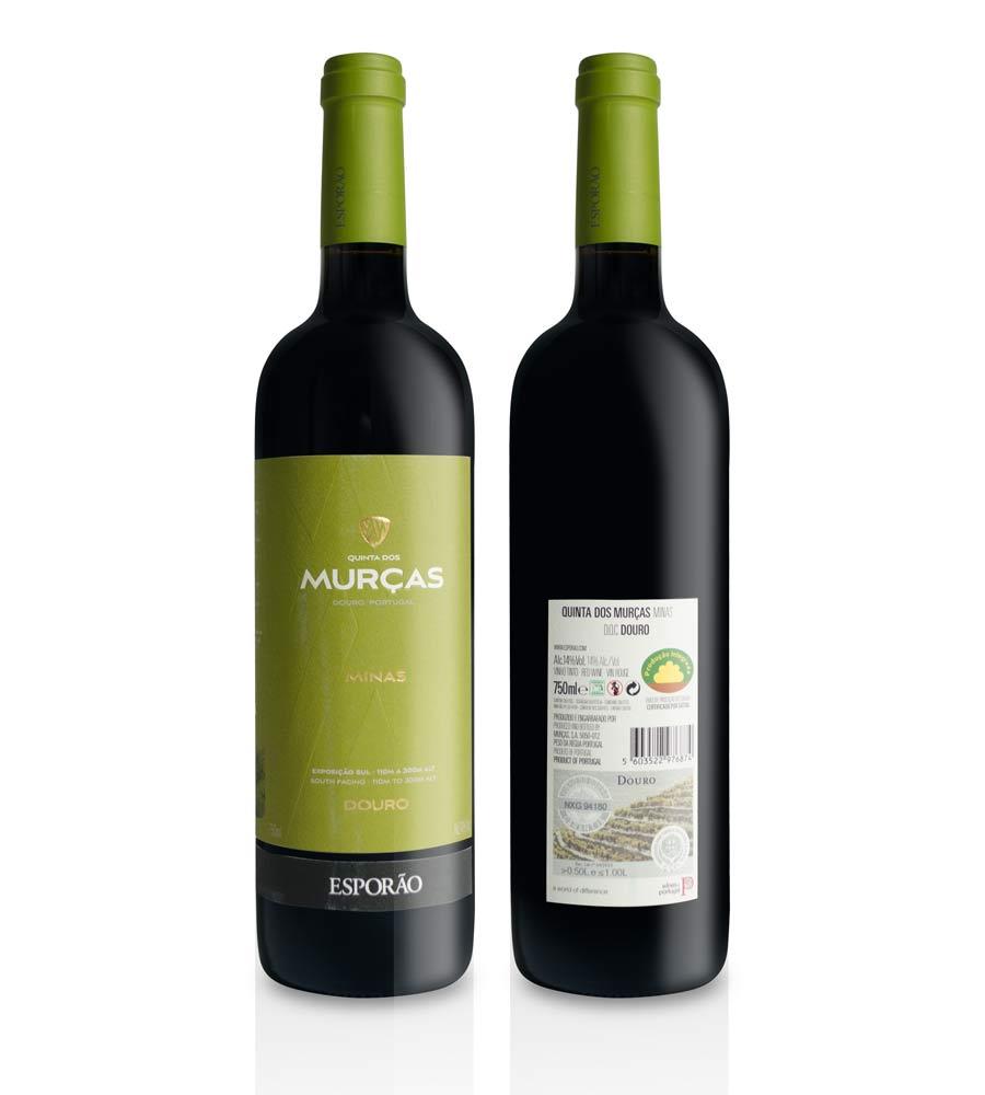 Vinho Tinto Quinta dos Murças Minas 2017, 75cl Douro