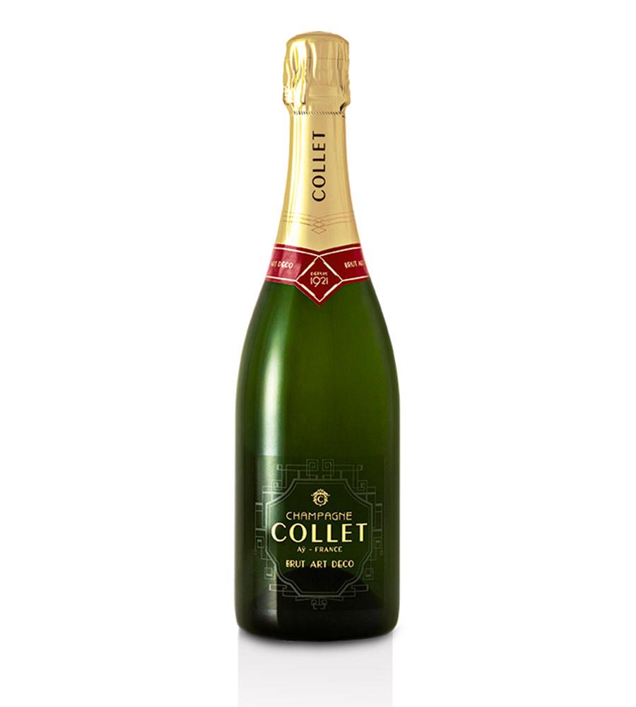 Champagne Collet Art Déco Brut, 75cl Champagne