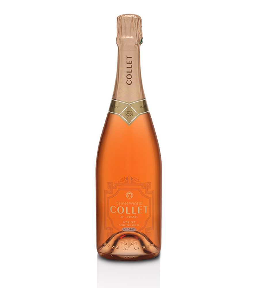 Champagne Collet Rosé Collection Privée, 75cl Champagne