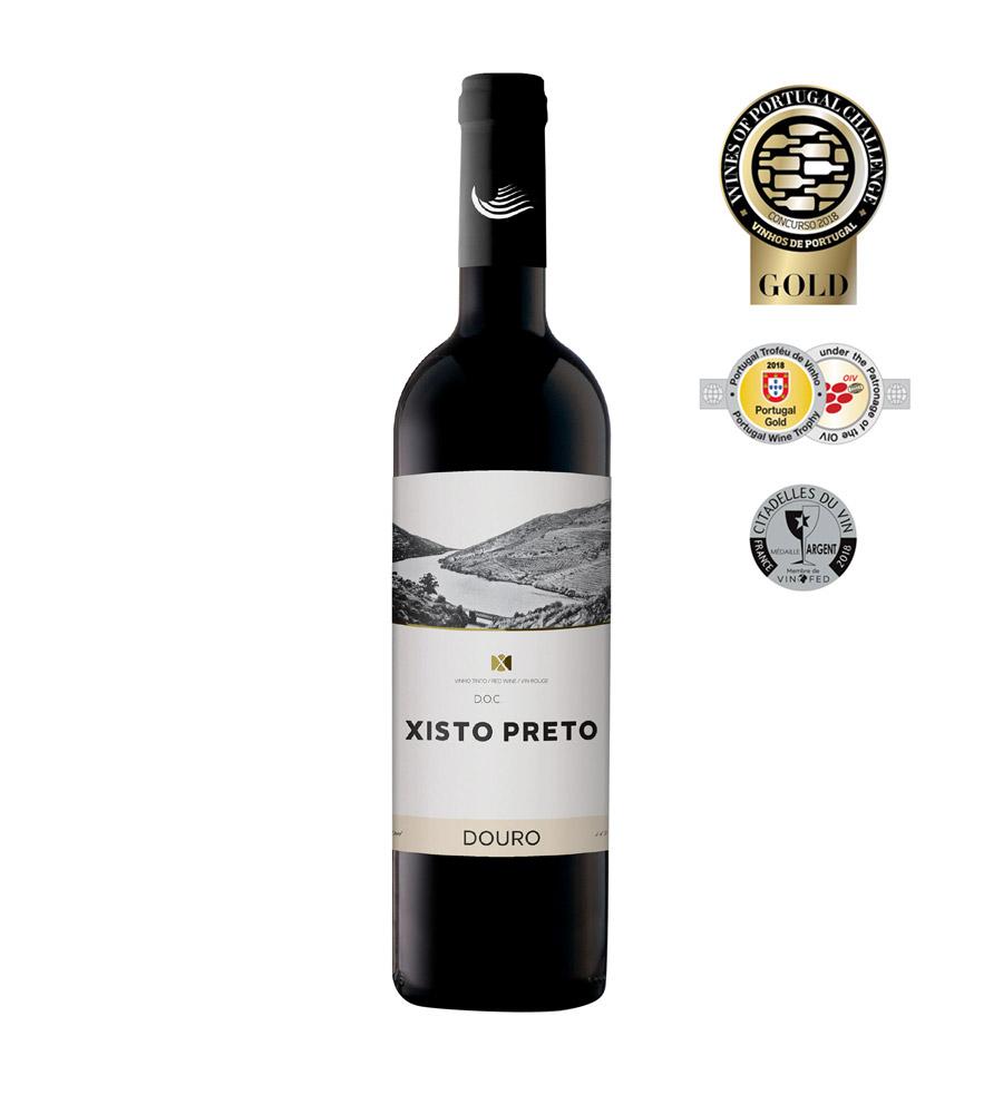 Vinho Tinto Xisto Preto Signature 2017, 75cl Douro DOC