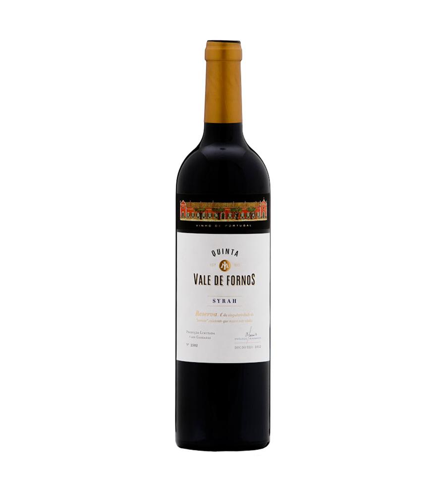 Vinho Tinto Quinta Vale de Fornos Syrah Reserva 2015, 75cl Tejo