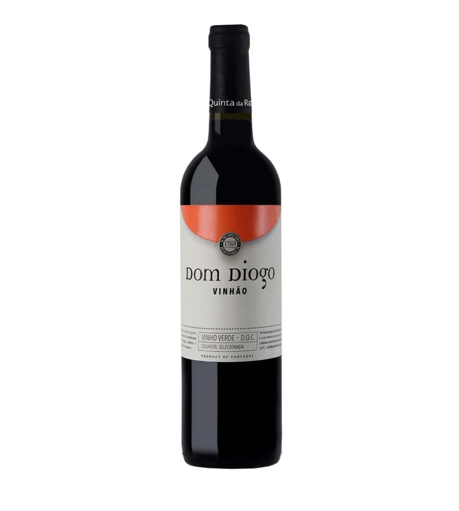 VInho Tinto Dom Diogo Vinhão 2019, 75cl Vinhos Verdes