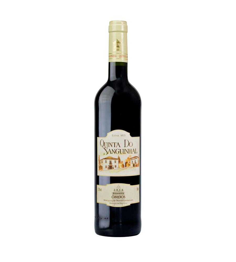 Vinho Tinto Quinta do Sanguinhal Reserva 2014, 75cl Óbidos DOC