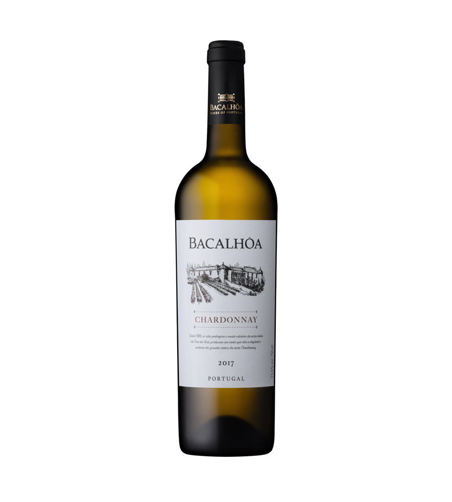 Vinho Branco Bacalhôa Chardonnay 2017, 75cl Regional Península de Setúbal