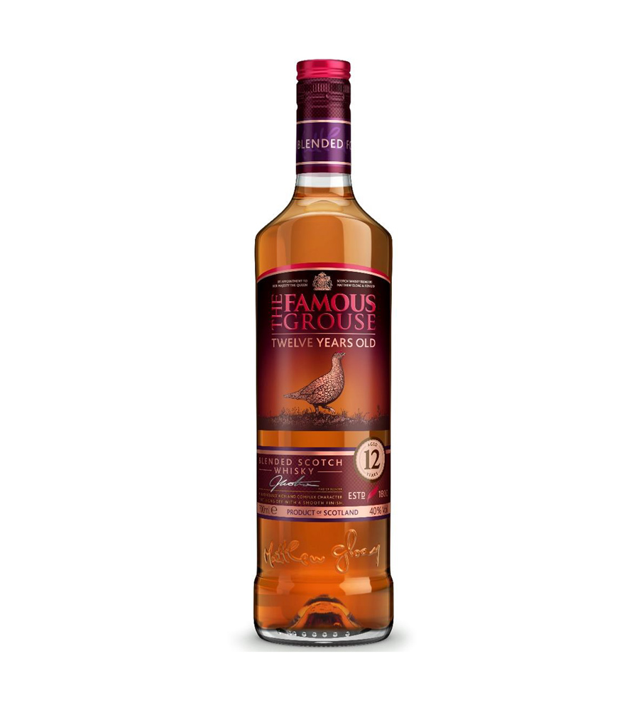 Whisky The Famous Grouse 12 anos, 70cl