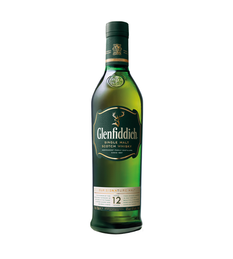 Whisky Glenfiddich 12 Year Old, 70cl