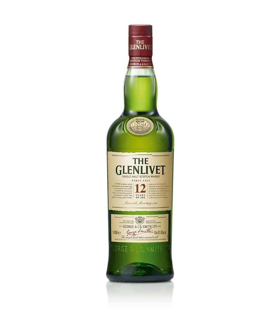 Whisky The Glenlivet 12 Year Old, 70cl